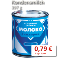 Kondensmilch